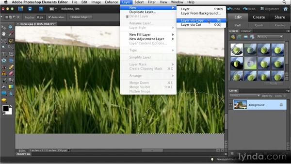 Manual patching: Quick Fixes with Photoshop Elements 10