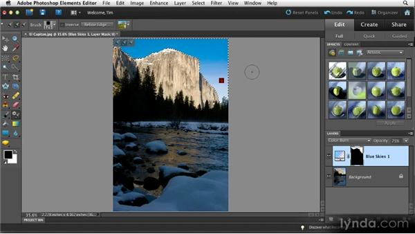 Targeted adjustment: Quick Fixes with Photoshop Elements 10