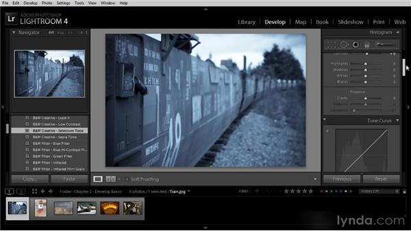 Starting with a Develop preset: Lightroom 4 Image Optimization Workshop