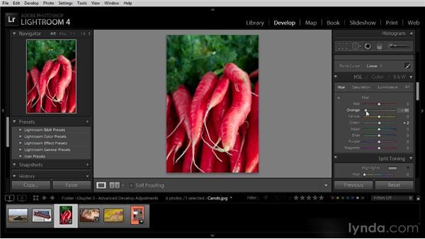 Advanced color adjustments: Lightroom 4 Image Optimization Workshop