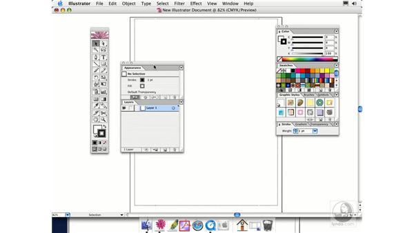 palettes: Illustrator CS Essential Training