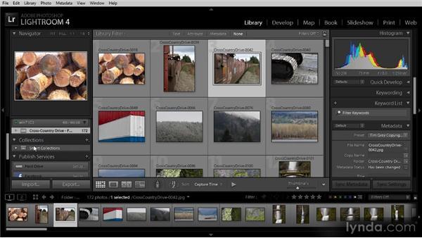 Library module overview: Lightroom 4 Image Management Workshop
