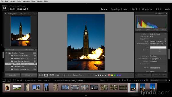 Basic metadata updates: Lightroom 4 Image Management Workshop