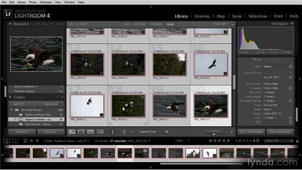 Correcting capture time: Lightroom 4 Image Management Workshop