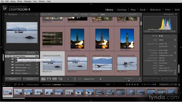 Catalogs, folders, and collections: Lightroom 4 Image Management Workshop