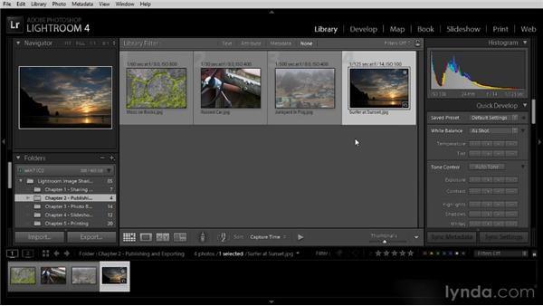 Using collections for sharing: Lightroom 4 Image Sharing Workshop
