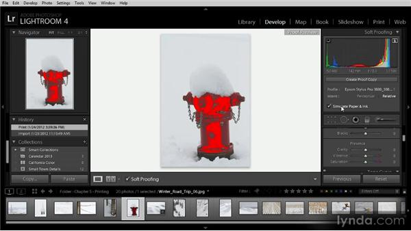 Correcting inaccurate prints: Lightroom 4 Image Sharing Workshop