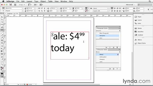 083 Formatting prices with nested and grep styles: InDesign Secrets