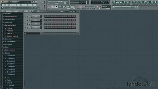 Interface overview: Up and Running with FL Studio