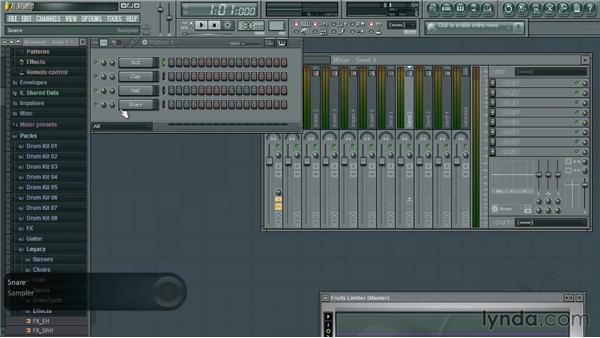Creating a new project: Up and Running with FL Studio
