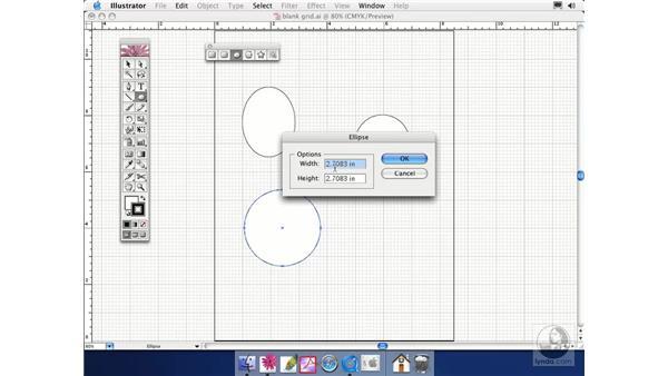 ellipse: Illustrator CS Essential Training
