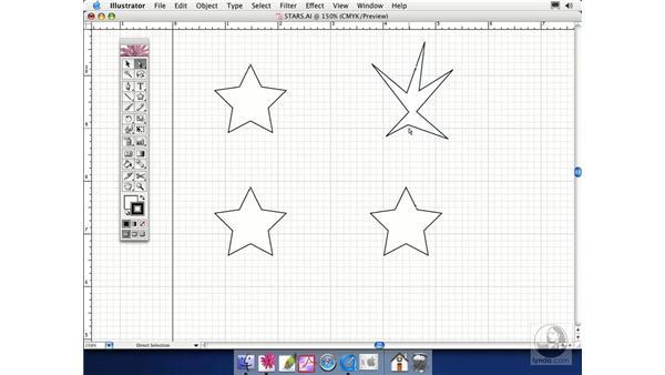 editing points: Illustrator CS Essential Training