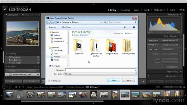 Introduction to catalogs: Getting Started with Lightroom 4