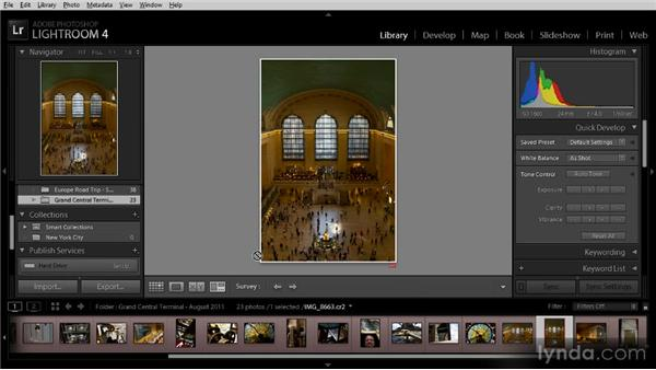 Creating and using collections: Getting Started with Lightroom 4