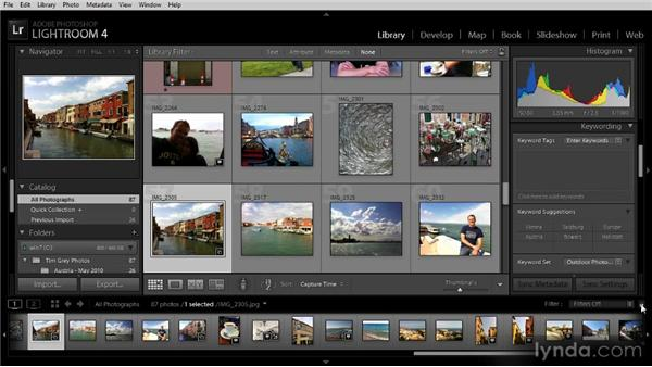Basic filtering: Getting Started with Lightroom 4