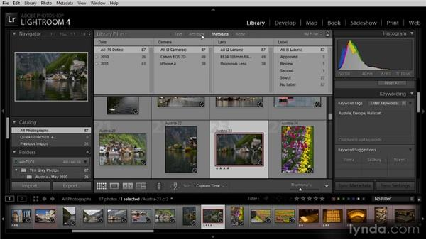 The Library Filter: Getting Started with Lightroom 4