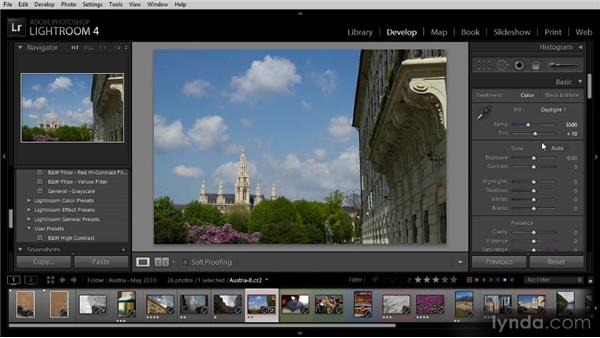 Develop basics: Getting Started with Lightroom 4