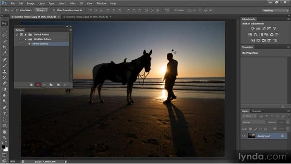 Tool recording in actions: Photoshop CS6 New Features Overview