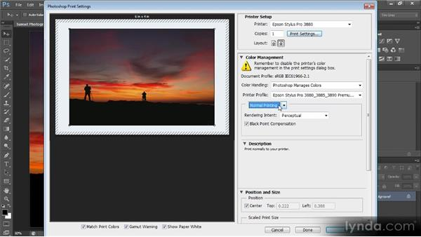 Print dialog updates: Photoshop CS6 New Features Overview