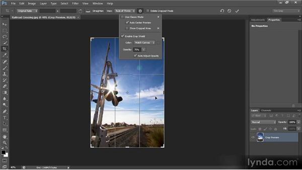 Crop tool overhaul: Photoshop CS6 New Features Overview