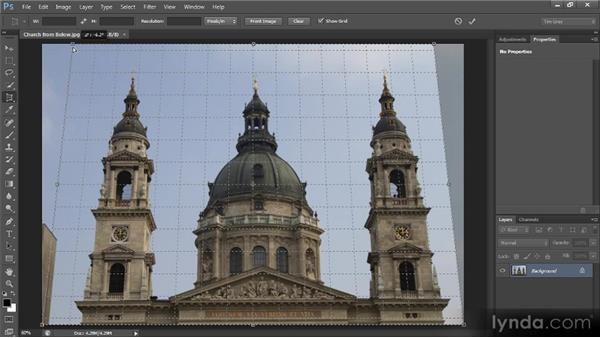 The Perspective Crop tool: Photoshop CS6 New Features Overview