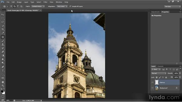 Patch tool updates: Photoshop CS6 New Features Overview