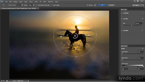 The Iris Blur filter: Photoshop CS6 New Features Overview