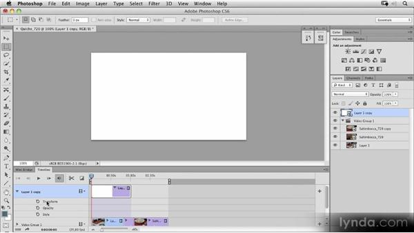 Creating a transformation with layers: Photoshop CS6 New Features Overview
