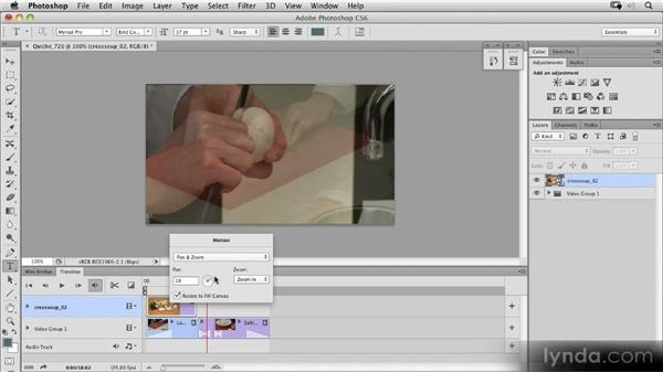 Adding and animating pictures: Photoshop CS6 New Features Overview