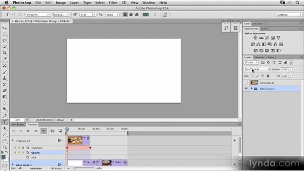 Applying adjustments and filters to frames or whole videos: Photoshop CS6 New Features Overview