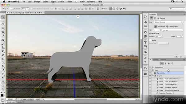 Goodbye Repoussé: The new 3D workflow: Photoshop CS6 New Features Overview
