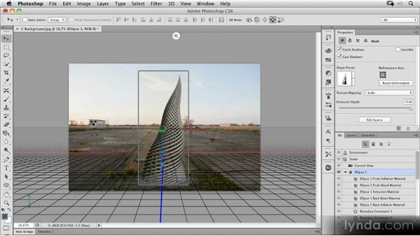 Advanced 3D features: Photoshop CS6 New Features Overview