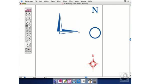 rotate and scale: Illustrator CS Essential Training