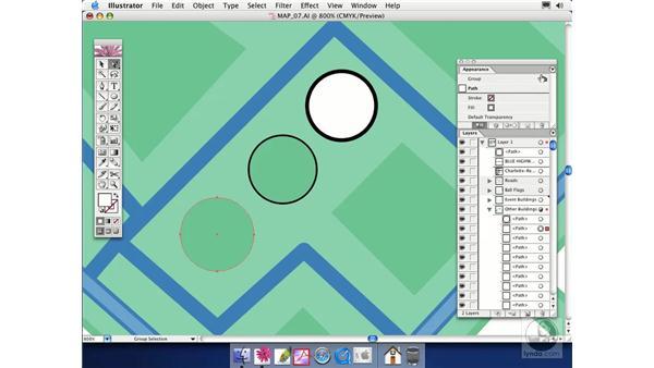 using appearances: Illustrator CS Essential Training