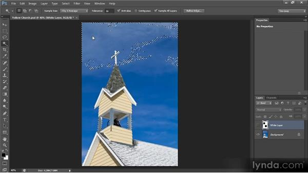 The case for not feathering selections: Photoshop CS6 Selections and Layer Masking Workshop