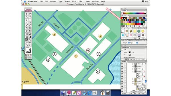 duplicating appearances: Illustrator CS Essential Training