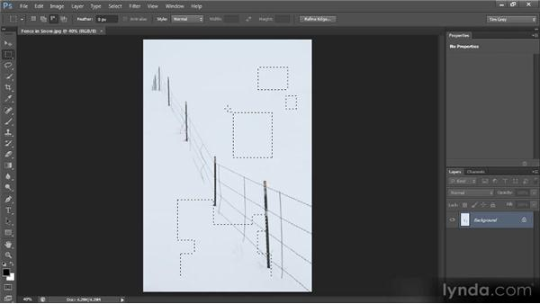 Adding, subtracting, and intersecting: Photoshop CS6 Selections and Layer Masking Workshop