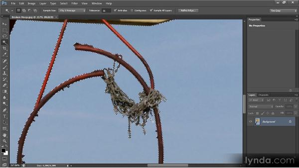 Using Deselect, Reselect, and Hide: Photoshop CS6 Selections and Layer Masking Workshop