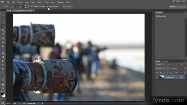 The Quick Selection tool: Photoshop CS6 Selections and Layer Masking Workshop
