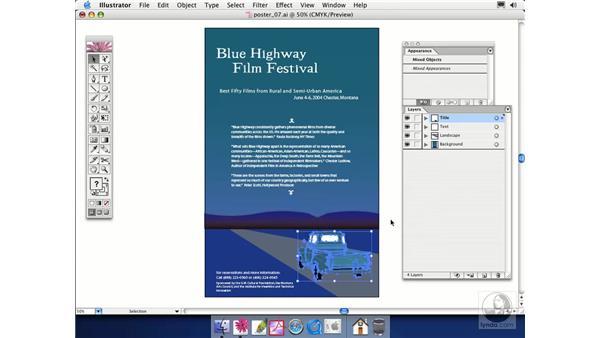 two documents: Illustrator CS Essential Training