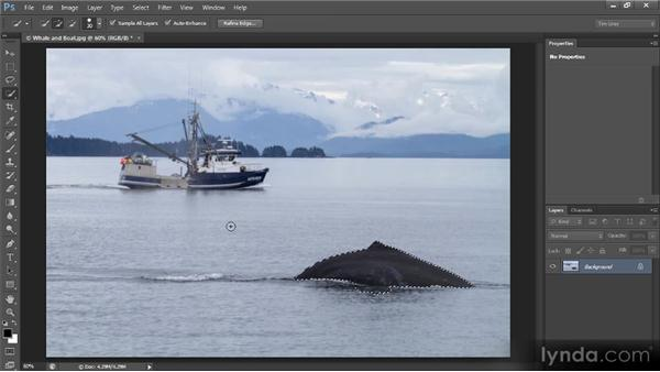 Quick Mask mode: Photoshop CS6 Selections and Layer Masking Workshop