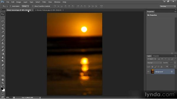 Layering images manually: Photoshop CS6 Selections and Layer Masking Workshop