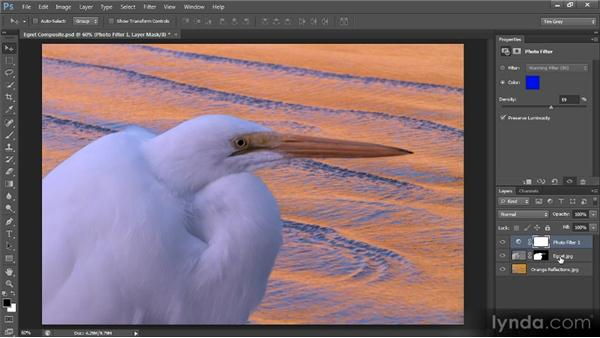 Matching composite images: Photoshop CS6 Selections and Layer Masking Workshop