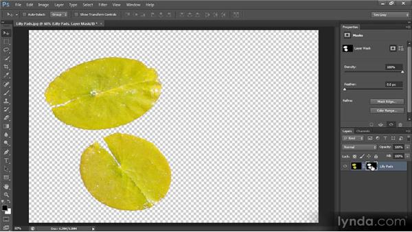 Reviewing layer masks: Photoshop CS6 Selections and Layer Masking Workshop