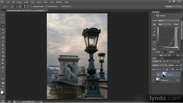 Selecting and adjusting areas of a photo: Photoshop CS6 Selections and Layer Masking Workshop