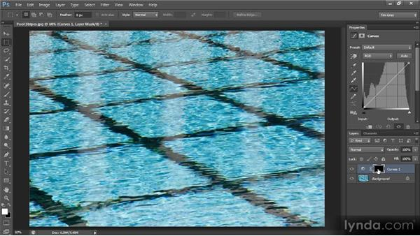 Creating a vignette effect with masking: Photoshop CS6 Selections and Layer Masking Workshop
