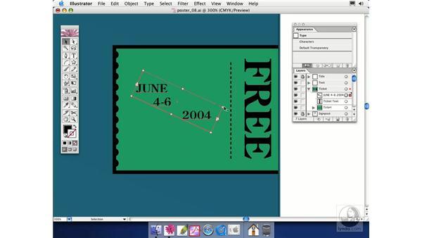 area type: Illustrator CS Essential Training