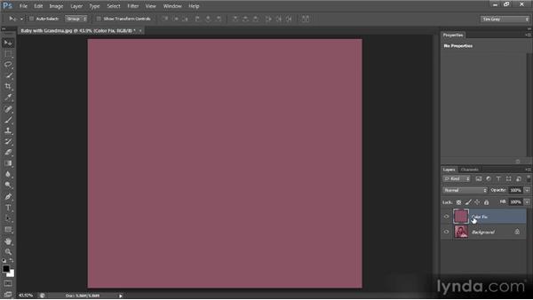 Removing strong color casts: Photoshop CS6 Image Cleanup Workshop