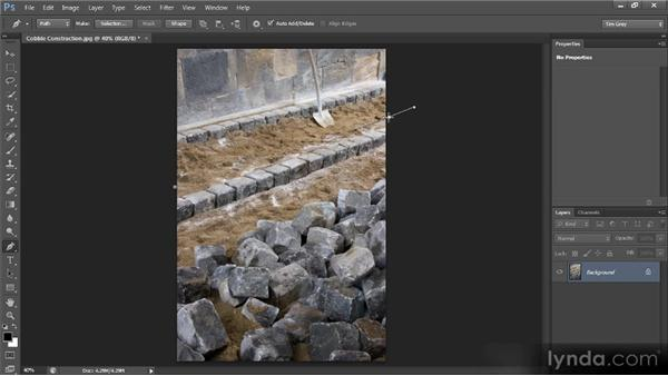 Pen tool cleanup: Photoshop CS6 Image Cleanup Workshop