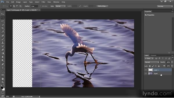 Extending the frame: Photoshop CS6 Image Cleanup Workshop